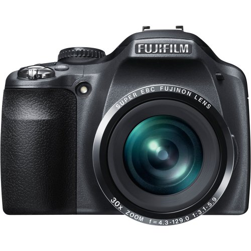 (Fujifilm FinePix SL300 14 MP Digital Camera with 30x Optical Zoom (Black) (OLD)