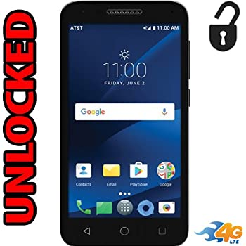 Amazon com: Alcatel Tetra 4G LTE Unlocked 5041C 5 inch 16GB