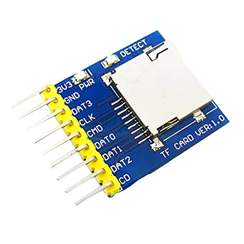 gazechimp SDリーダーモジュール ストレージメモリーボード SPI SDIO Arduino用