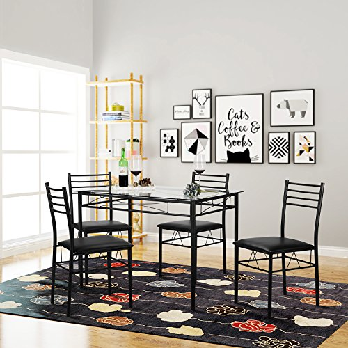 Review VECELO Dining Table with