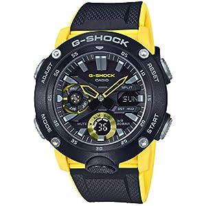 51ZLQxU7lkL. SS300  - Casio G-Shock GA-2000-1A9JF Carbon Core Guard Basic