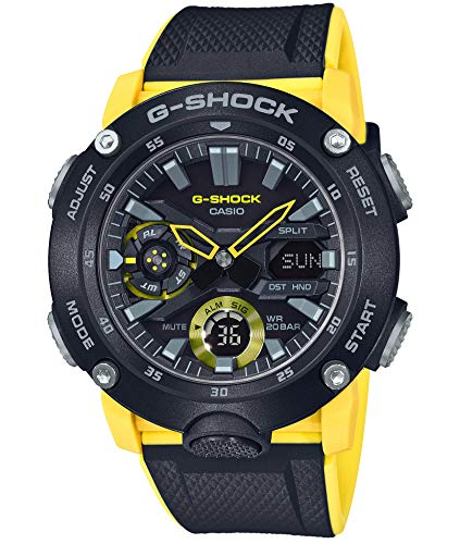 - Casio G-Shock GA-2000-1A9JF Carbon Core Guard Basic
