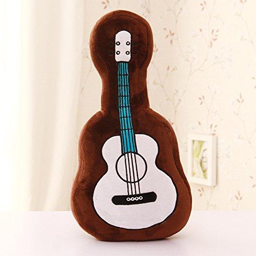 MORIO Guitar Pillow Stuffed Plush Toy Bed Sofa Pillow Cus...