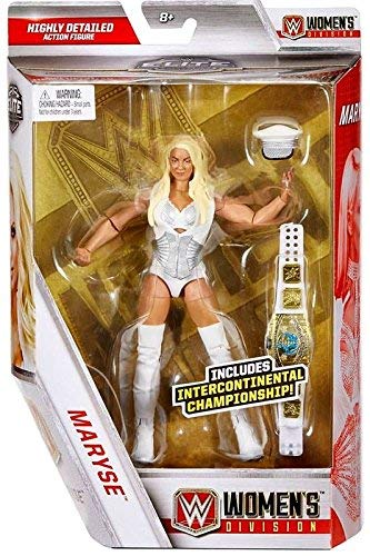 Wrestling WWE Mattel Elite Collection Maryse Action Figure with Intercontinental Women's Championship Belt (Elite Mattel Wwe)