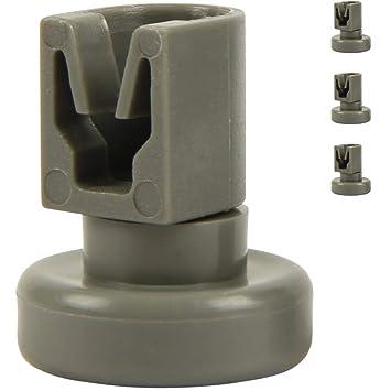 NEU Alternativ Korbrolle Unterkorb 8Stück Spülmaschine wie Electrolux 5027905900