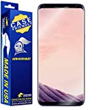 Image of Armorsuit - Galaxy S8+ Screen Protector [Case Friendly] MilitaryShield For Samsung Galaxy S8+ Anti-Bubble Lifetime Replacement HD Clear