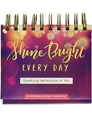 "DaySpring 10176 Shine Bright Every Day - Perpetual Calendar 5 1/2"" x 5 1/4"" x 1 1/4"""