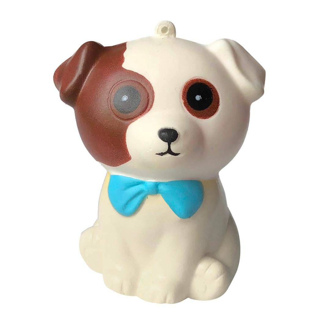 Squishies for Boys and Girls Adorable Puppy Slow Rising Cream Squeeze Scented Stress Relief Toys for Kids AW80606_1421
