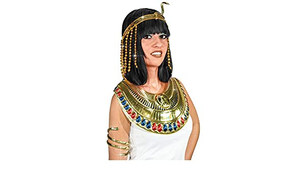 Generique - Cinta Lentejuelas Serpiente egipcia Dorada Mujer: Amazon.es: Juguetes y juegos
