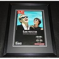 1998 Ray Ban Sunglasses Vampires 11x14 Framed ORIGINAL Advertisement