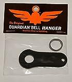 Guardian® Bell Black Motorcycle Luck Gremlin Ride Bell Hanger Mount