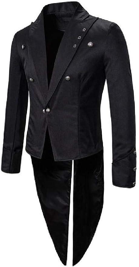Losait Mens Fashion Summer One Button Suit Blazer Jacket /& Flat Pants Set