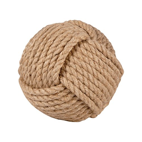 Traditional Décor Collection Sailors Knot Decorative 6-Inch Sphere