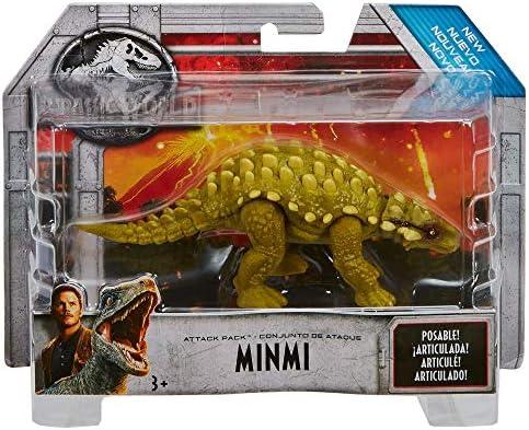 Mattel FVJ89 Jurassic World Attack Pack Herrerasaurus