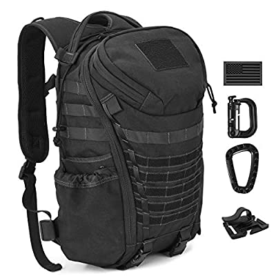 DIGBUG Military Tactical Backpack Army 3 Day Assault Pack Bag Rucksack w/Rain Cover