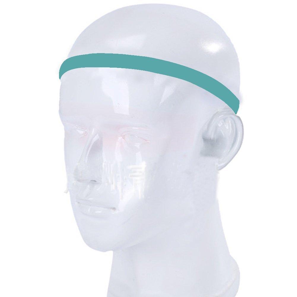 cinta para el sudor Diadema deportivo banda /única con dos tiras UPmall/® 0,39/cm de ancho con interior de silicona