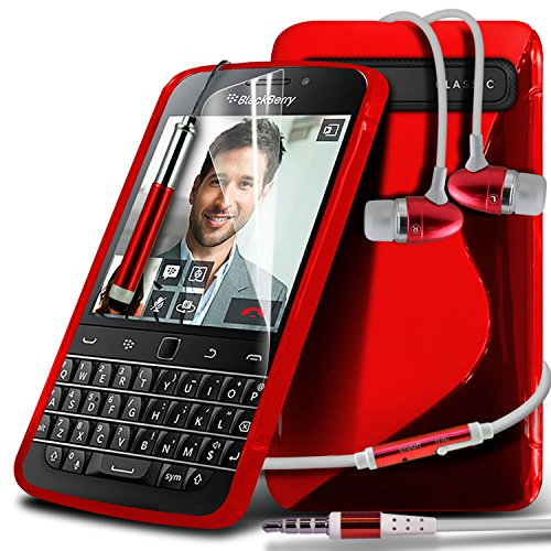 blackberry classic case red - 6
