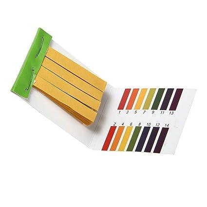 divinext PH 1-14 Test Paper Litmus Strips Tester (80 Pieces) -Set of 2