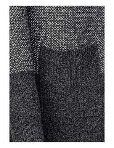 Melange Mehrfarbig Donna 30602 Grey Cardigan Cecil graphite wqXRAUaP