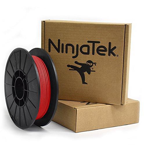 NinjaTek 3DCH03129005 NinjaTek Cheetah TPU Filament, 3.00mm, Tpe, .5kg,  Fire (Red) (Pack of 1)