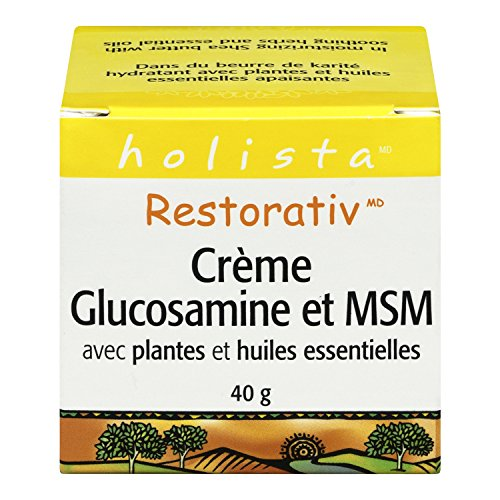RestorativTM Extra Strength Glucosamine   MSM Cream, 40 grams