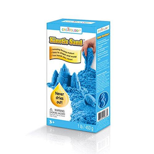 Kinetic Sand Creatology Fun - Neon Blue 453g ()
