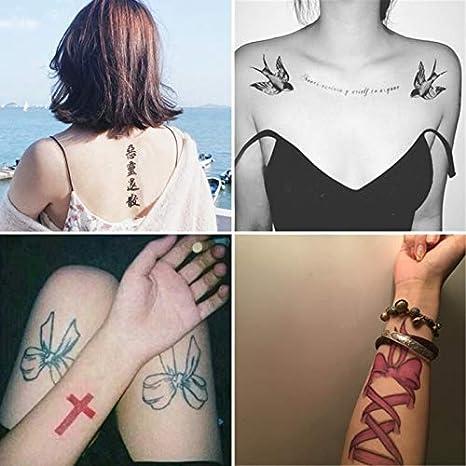 YSYYSH Pegatinas De Tatuaje A Prueba De Agua For Hombres Y Mujeres ...