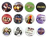 Bee Gees Gibb (2) Awesome Quality Lot of 12 New Pins Pinback Buttons Badge 1.25''