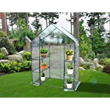 "ON Sale! Quictent® New Mini High Quality 56""x29""x77"" Portable Green House 6 shelves Greenhouse"