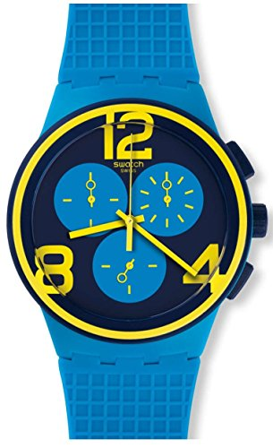 Swatch SUSS100 On Your Mark Unisex Watch
