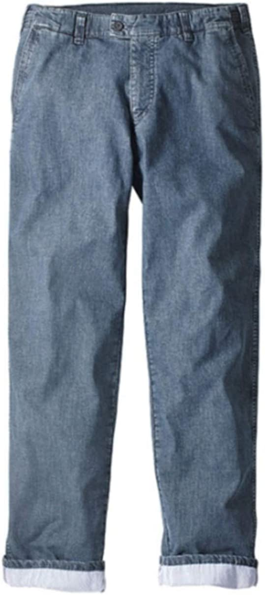 Herren Jeans Thermojeans In Blau Bekleidung