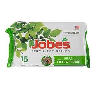 Jobe's Organics Fertilizer Spikes (Tree and Shrub, 15 Spikes)