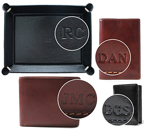 how to get initials on wallet