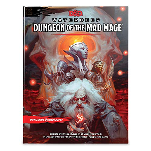 Dungeons & Dragons Waterdeep: Dungeon of the Mad Mage (Adventure Book, D&D Roleplaying Game) (D&D Adventure) ()