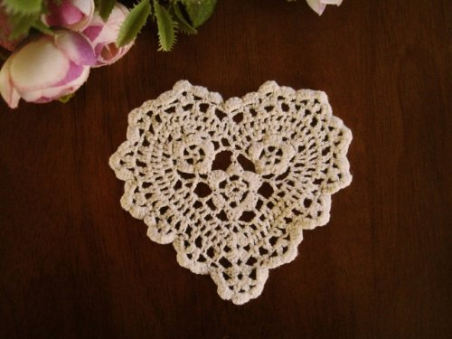 Crocheted Heart - 5