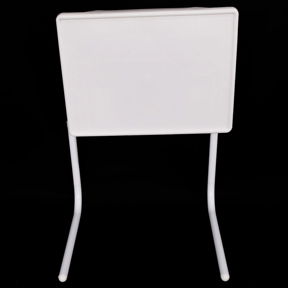 Amazon.com: cosway Folding Table White Practical Portable ...