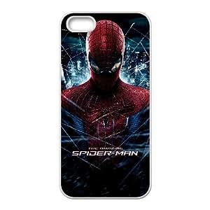 ABC HHH The Amazing Spider Man 9 funda iPhone 4 4S Cubierta blanca del teléfono celular de la cubierta del caso funda EVAXLKNBC17134