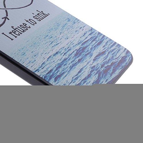 Wkae Case Cover neue comic - katze mit blumen color design aus schwarzem kunststoff pc - hard cover für iphone 5s 65 65 plus 6 5. ( PATTERN : 9 , Size : Iphone 5/5S )