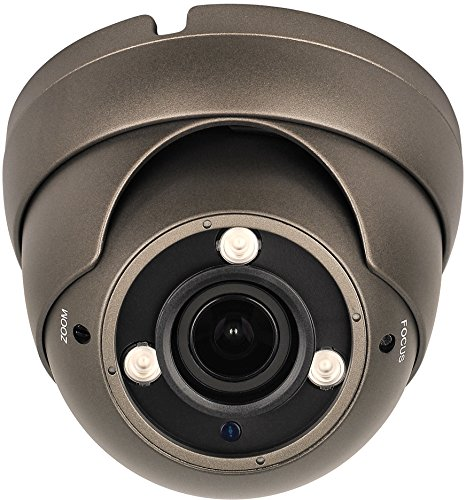 HDView 2.4MP 4-in-1 (TVI/AHD/CVI/960H) 1080P Outdoor SONY Sensor Super Matrix EXIR 2.8-12mm Vari-Focal Lens Turbo Platinum Dome Camera