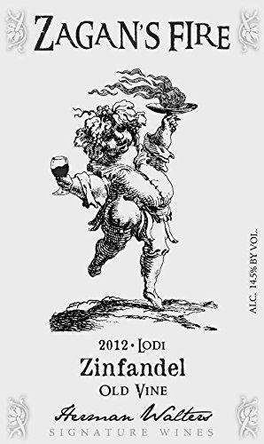 Zinfandel Old Vine (2012 Zagan's Fire Old Vine Lodi Zinfandel 750)