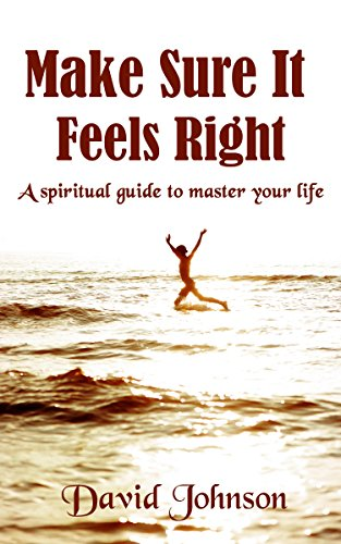Book: Make sure it feels right - A spiritual guide to master your life by David Jeff Johnson