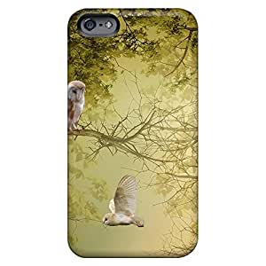 iphone 5 / 5s High Grade mobile phone carrying shells Cases Covers For phone covers owls in trees