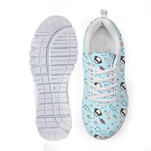 Sneakers Infirmière À Pattern Pour Appartements Summer Coloranimal Femme Course Marche Pied Spring 3 Nurse 7qE0Evw