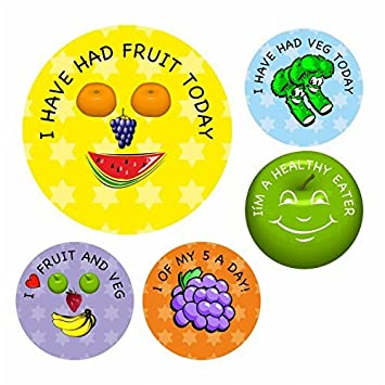 144 stickers childrens reward stickers I ate a healthy meal