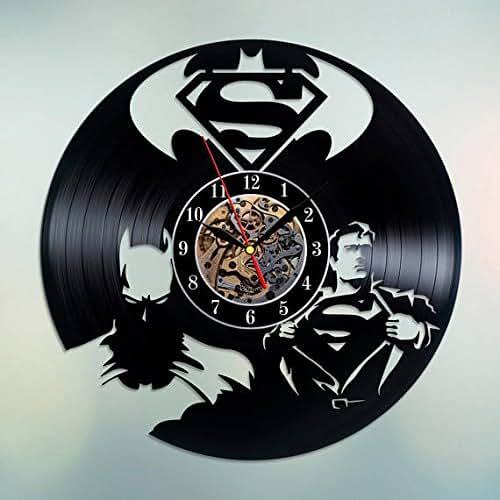 Unique Batman Vs Superman Bedroom Ideas That Rock: Amazon.com: Batman Vs Superman Vinyl Record Wall Clock