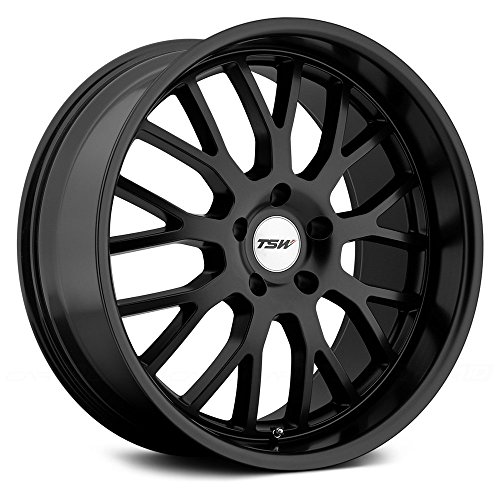 TSW TREMBLANT Black Wheel with Painted Finish (20 x 8.5 inches /5 x 120 mm, 45 mm Offset)