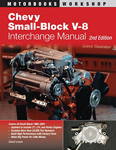 Chevy Small-Block V-8 Interchange Manual: 2nd Edition (Motorbooks Workshop) from Motorbooks