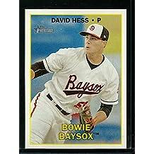 2016 Heritage Minor League #37 David Hess NM-MT