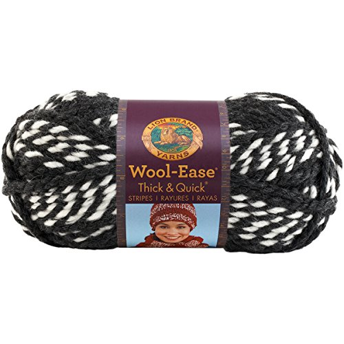 Lion  640-601 Wool-Ease Thick & Quick Yarn , 97 Meters, Hoyas