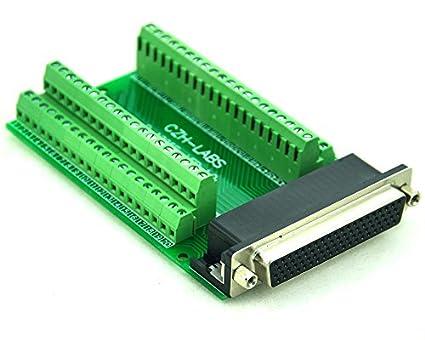 DSUB DB78 Connector. Electronics-Salon D-SUB DB78HD Female Header Breakout Board Terminal Block